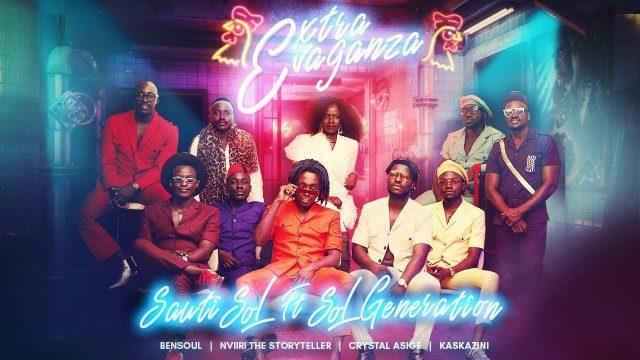 Photo of New AUDIO: Sauti Sol ft Bensoul, Nviiri the Storyteller, Crystal Asige & Kaskazini – Extravaganza   Mp3