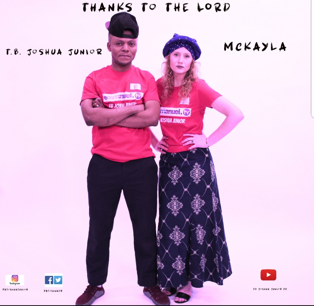 Photo of New VIDEO: TB Joshua Junior X Mc kayla – Thanks To The Lord
