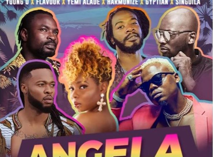 Photo of New AUDIO: Young D ft Harmonize,Flavour,Yemi Alade,Gyptian & Singuila – ANGELA | Download