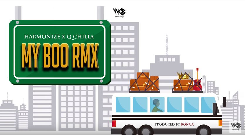 Photo of New AUDIO: Harmonize X Q Chilla – My Boo Remix | Download