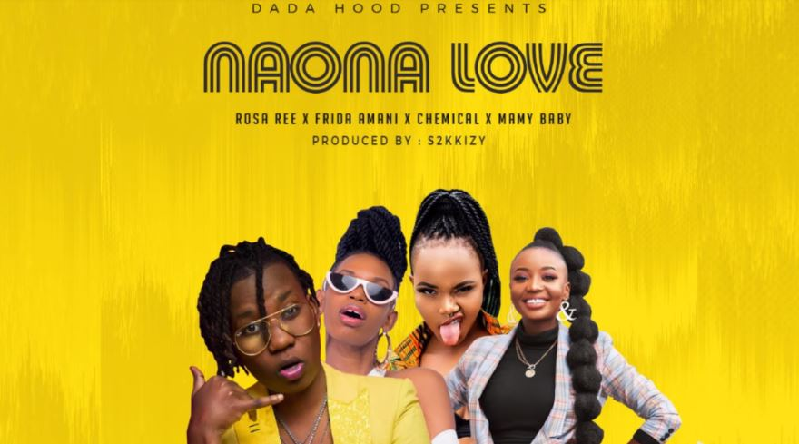 Photo of New AUDIO: Rosa Ree X Frida Amani X Chemical X Mamy Baby (Dada Hood) ft S2kizzy – Naona Love | Download