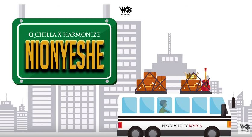 Photo of New AUDIO: Q Chilla X Harmonize – Nionyeshe | Download