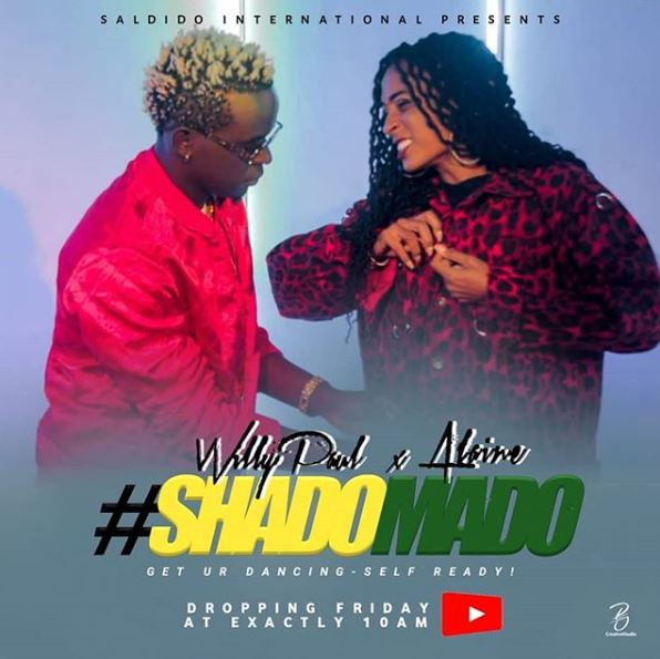 Photo of New AUDIO: Willy Paul ft Alaine – Shado Mado | Download