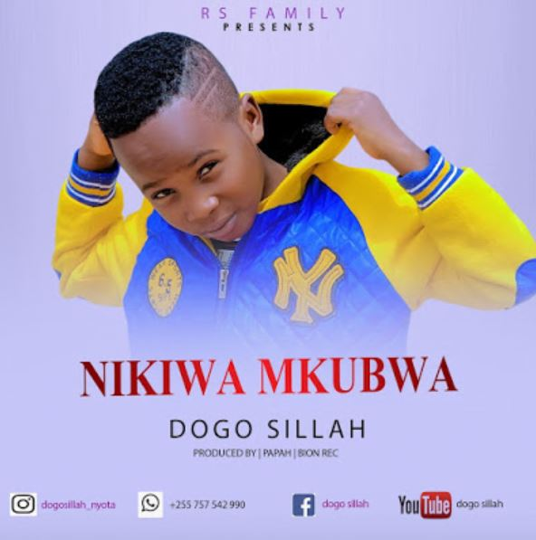 Photo of New AUDIO&VIDEO : Dogo Sillah – Nikiwa mkubwa