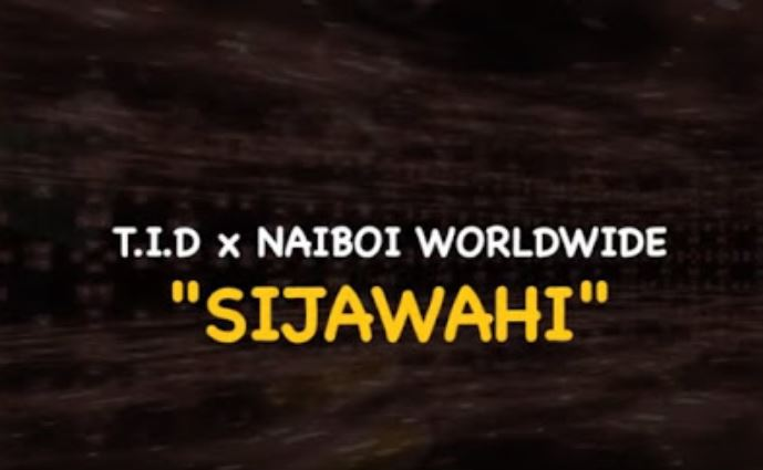 Photo of New AUDIO: TID Ft Naiboi – SIJAWAHI | Download