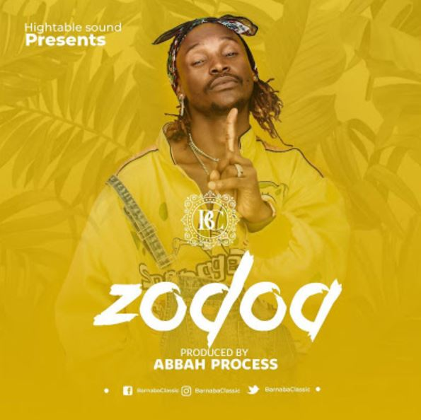 Photo of New AUDIO: Barnaba Classic – Zodoa | Download Mp3