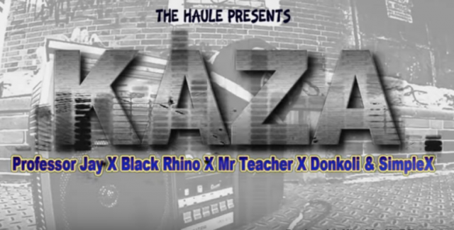 Photo of New AUDIO: Professor Jay, Black Rhyno x DonKoli x Mr Teacher & Simple X – KAZA | DOWNLOAD Mp3