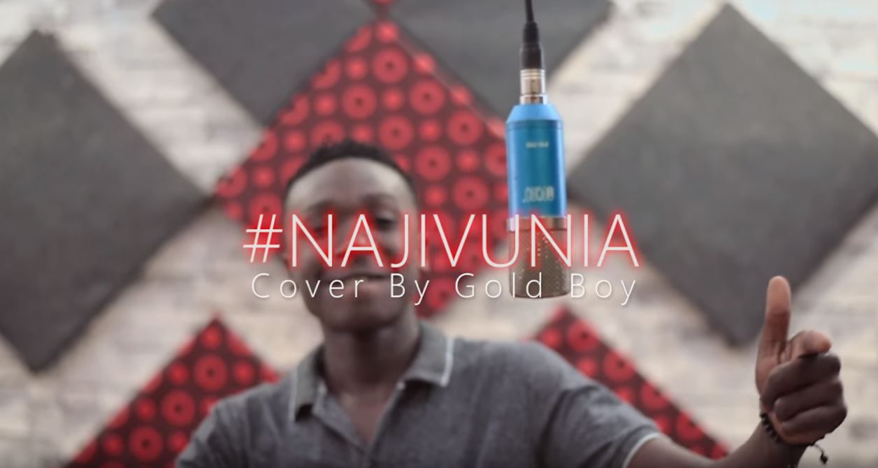 Photo of New VIDEO: Gold Boy – Najivunia Cover