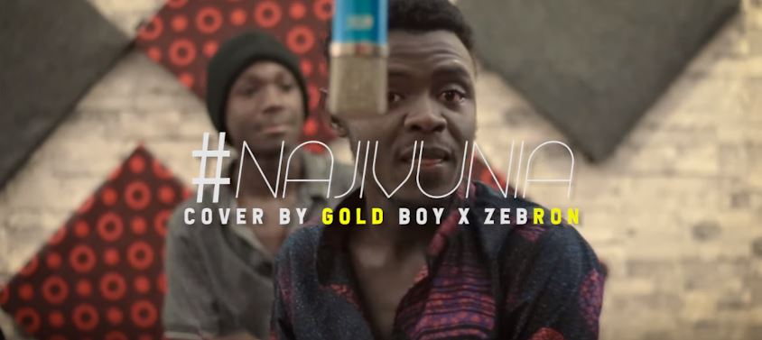 Photo of New VIDEO: Gold Boy X Zebron – Najivunia COVER