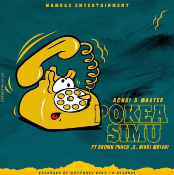 Photo of New AUDIO: Dudu Baya Ft. Brown punch & Nikki Mbishi – Pokea Simu | Download Mp3