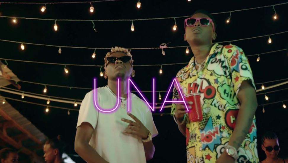 Photo of VIDEO: Mimi Mars Ft. Young Lunya & Marioo – Una