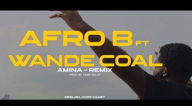 Photo of AUDIO: Afro B ft. Wande Coal & Team Salut – Amina (Remix) |Download mp3