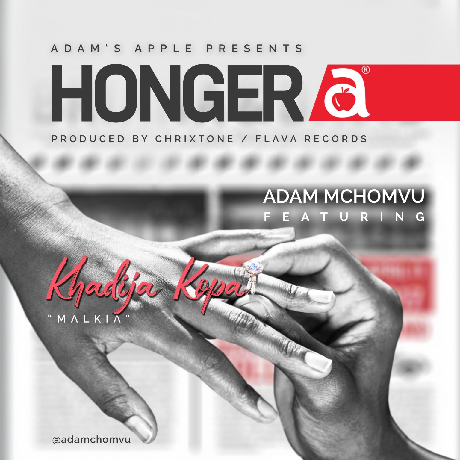 Photo of AUDIO: Adam Mchomvu Ft. Khadija Kopa – Hongera | Download mp3