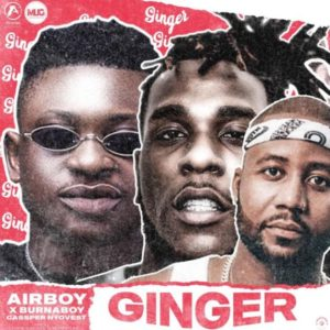 Photo of Airboy Ft. Burna Boy, Cassper Nyovest – Ginger |Download Audio mp3