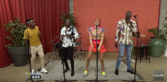 Photo of Sauti Sol & Sho Madjozi Perform Disco Matanga (VIDEO)