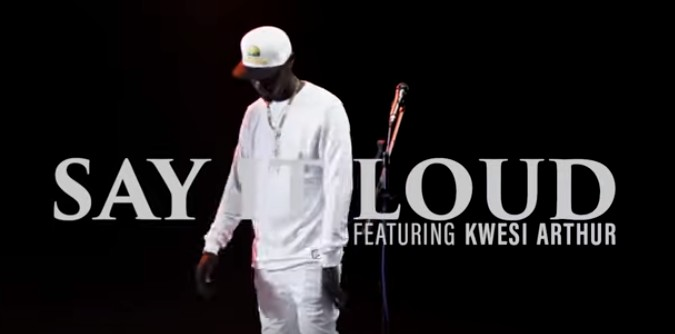 Photo of King Kaka Ft. Kwesi Arthur – Say it Loud (VIDEO)