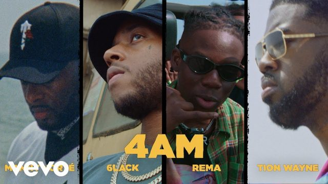 Photo of Rema, Manny Norte, 6lack, Tion Wayne, LVRN – 4AM (VIDEO)
