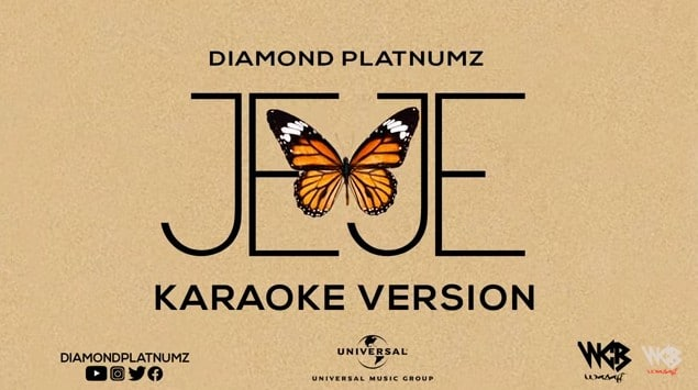 Photo of Diamond Platnumz – Jeje  Karaoke Version (VIDEO)