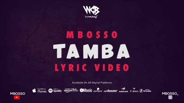 Photo of Mbosso – Tamba Lyric (VIDEO)