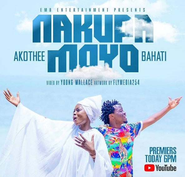 Photo of Bahati & Akothee – NAKUPA MOYO | Download Audio mp3