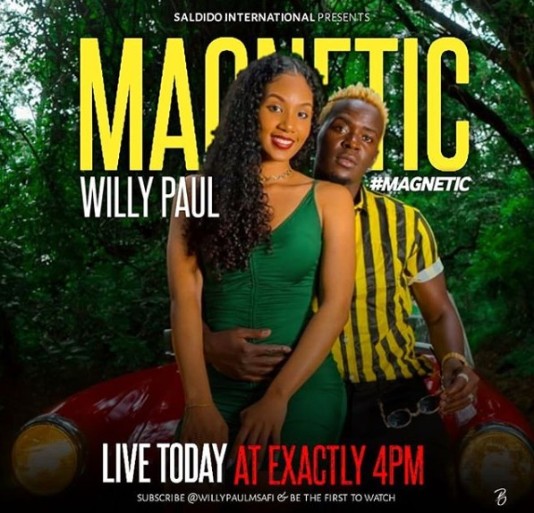 Photo of Willy Paul – Magnetic | Download Audio mp3