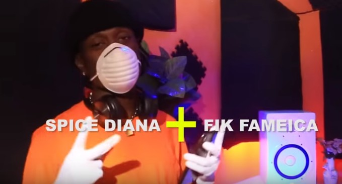 Photo of Spice Diana X Fik Fameica – Corona (VIDEO)