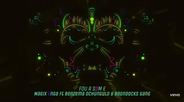 Photo of Magix Enga ft Benzema Ochungulo & Boondocks Gang – FOURSOME | Download Audio mp3