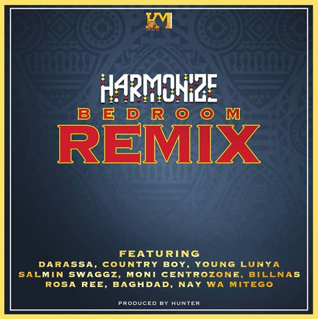 Photo of AUDIO: Harmonize  Ft Darassa, Country Boy, Young Lunya,Moni, Billnas, Rosa Ree, Baghdad – Bedroom Remix