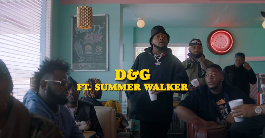 Photo of VIDEO: Davido ft. Summer Walker – D & G