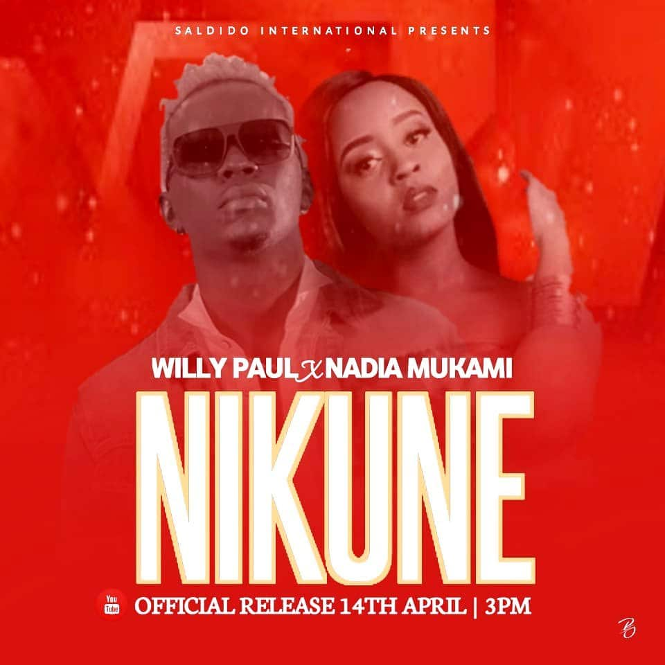 Photo of AUDIO: Willy Paul x Nadia Mukami – Nikune
