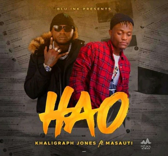 Photo of AUDIO: Khaligraph Jones Ft. Masauti – Hao