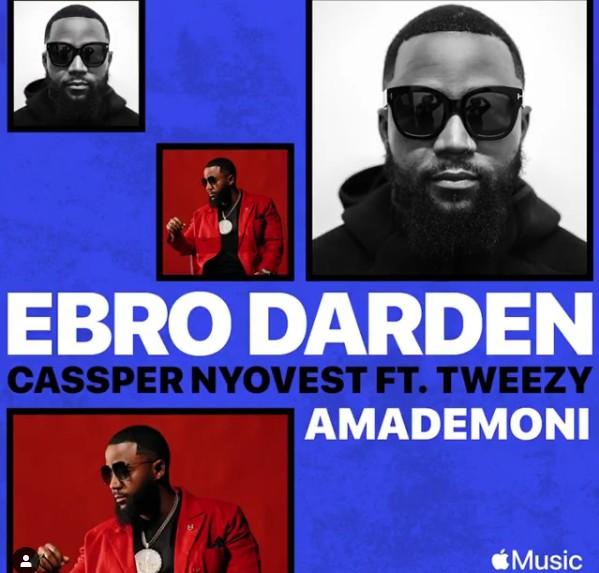 Photo of Cassper Nyovest ft Tweezy – Amademoni   Download Audio mp3