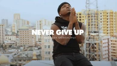 Photo of VIDEO: Harmonize – Never give up (English Version)