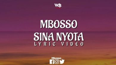 Photo of VIDEO: Mbosso – Sina Nyota (Lyrics)