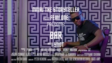 Photo of VIDEO: Nviiri the Storyteller ft Femi One – Bar