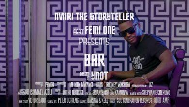 Photo of VIDEO: Nviiri the Storyteller ft Femi One – Bar